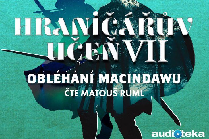 Vyhrajte tři audioknihy Obléhání Macindawu - www.klubknihomolu.cz