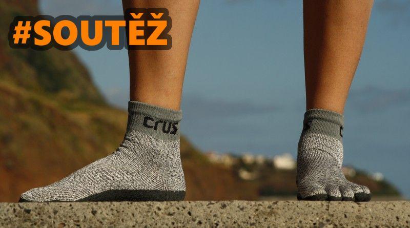 SOUTĚŽ o tři páry barefoot ponožkobot CRUS - www.chrudimka.cz