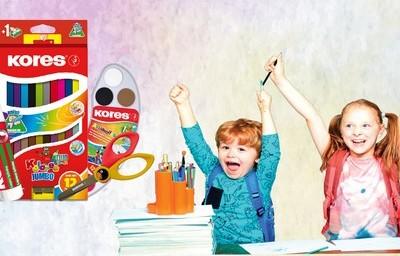 balíček školních potřeb Kores - www.zenyprozeny.cz