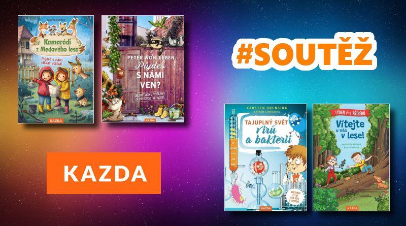 SOUTĚŽ o čtyři dětské knihy z Nakladatelství KAZDA - www.chrudimka.cz
