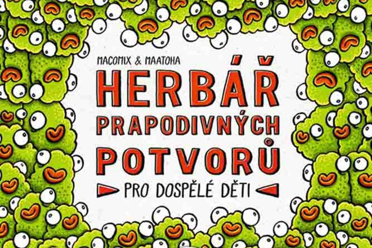 Vyhrajte tři knihy Herbář prapodivných potvorů - www.klubknihomolu.cz
