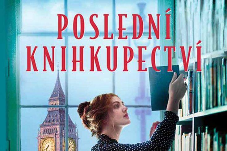Vyhrajte tři knihy Poslední knihkupectví - www.klubknihomolu.cz
