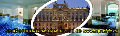 3x poukaz na Aqua aerobic v luxusním hotelu Boscolo Carlo IV!