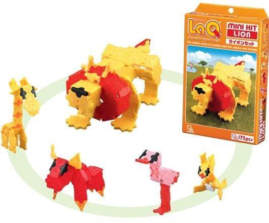 Vyhrajte japonskou stavebnici LaQ [lakjú] - hračku pro kreativní a nadané děti