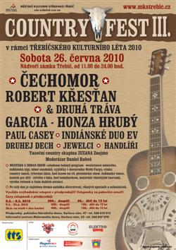 Soutěž o vstupenky na  Country Fest Třebíč 2010