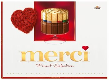 Vyhrajte ke sv. Valentýnu bonboniéru Merci